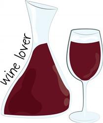 Wine Lover print art