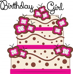 Birthday Girl print art