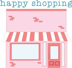 Happy Shopping print art