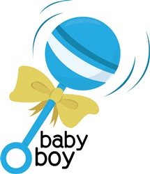 Baby Boy print art