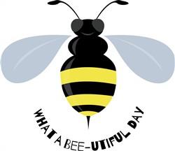 Bee-utiful Day print art