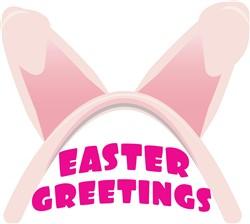 Easter Greetings print art