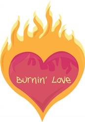 Burnin Love print art