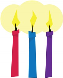 Birthday Candles print art