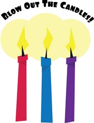 Blow Out the Candles print art