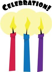 Celebration Candles print art