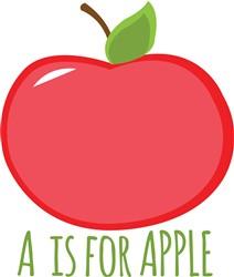 A is Apple print art