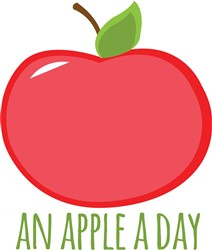 An Apple a Day print art