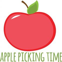 Apple Picking Time print art