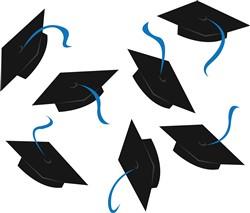 Graduation Caps print art
