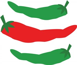 Spicy Peppers print art