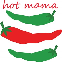 Hot Mama print art