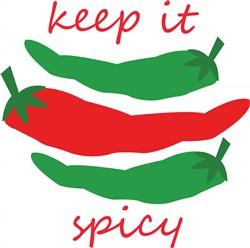 Keep It Spicy print art