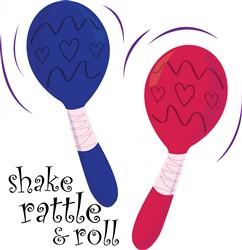Shake Rattle & Roll print art