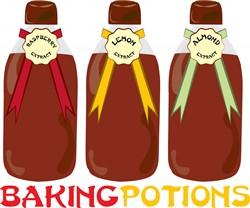Baking Potions print art