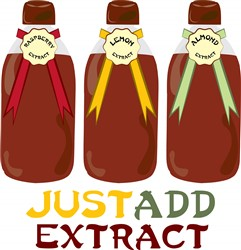 Just Add Extract print art