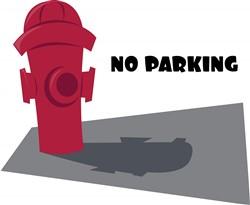 No Parking print art