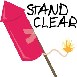 Stand Clear print art