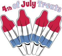 4th of July Treats print art