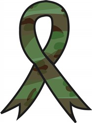 Military Ribbon print art