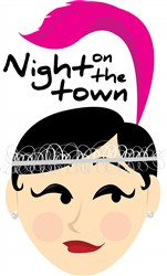 Night on the Town print art
