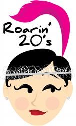 Roarin 20s print art