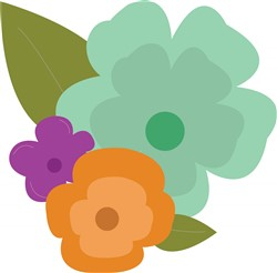 Tropical Flower print art