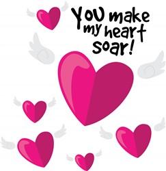 Heart Soar print art