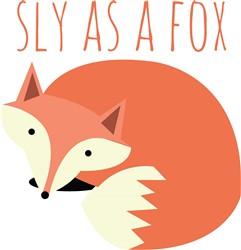 Sly As A Fox print art
