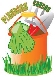 Planting Season print art