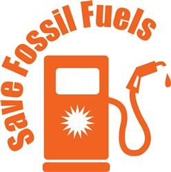 Save Fossil Fuels print art