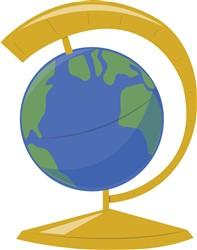Earth Globe print art