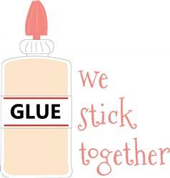 Stick Together print art