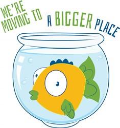 Moving Fish print art