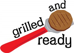 Grilled and Ready print art