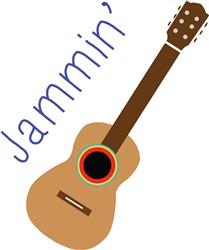 Jammin Guitar print art