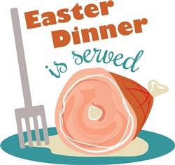 Easter Dinner print art