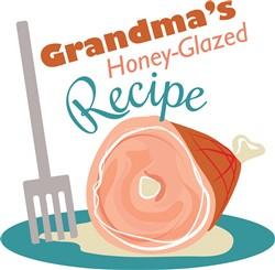 Grandmas Recipe print art