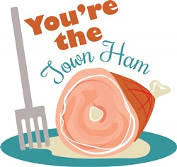 Town Ham print art