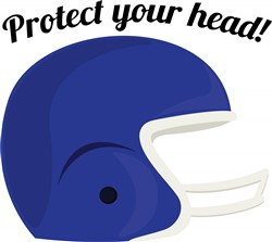 Protect Your Head print art