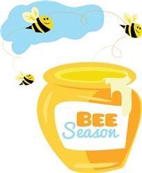 Bee Season print art