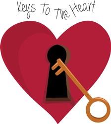 Keys to the Heart print art