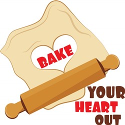 Bake Your Heart Out print art