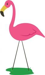 Flamingo Bird print art
