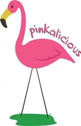 Pinkalicious Flamingo print art