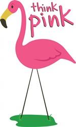 Think Pink print art