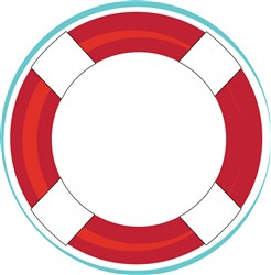Lifesaver Float print art