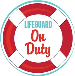 Lifeguard Duty print art