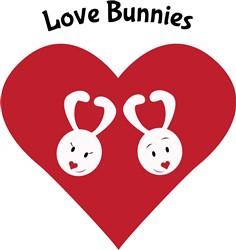 Love Bunnies print art