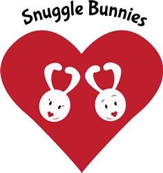 Snuggle Bunnies print art